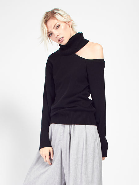 Phoebe Sweater - Black by Skin