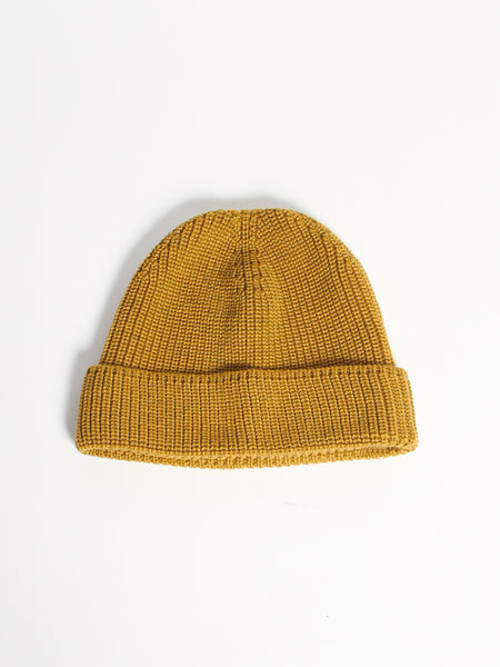 Rise Hood Hat Antique Gold by Journal