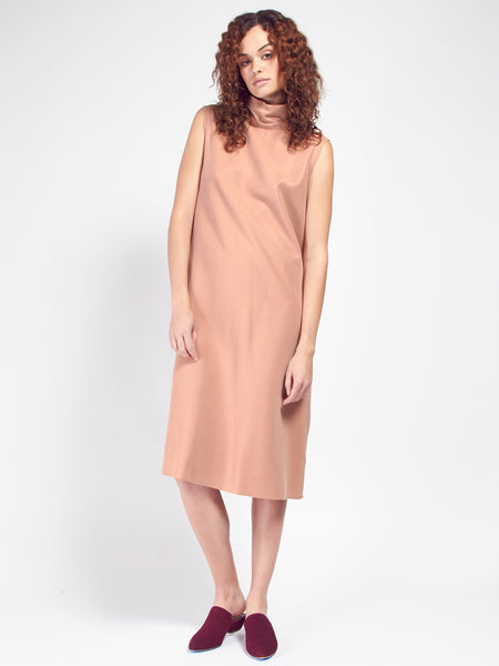 Cowl Dress - Dusty Pink by Priory