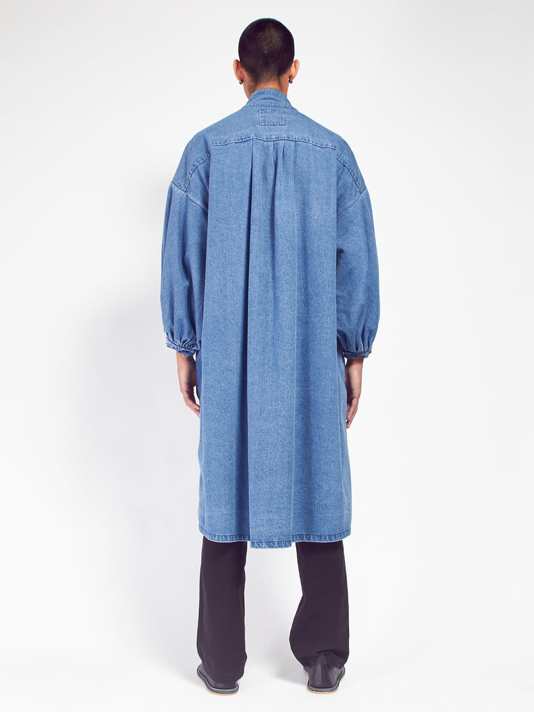 Pleated Coat Dress by 69