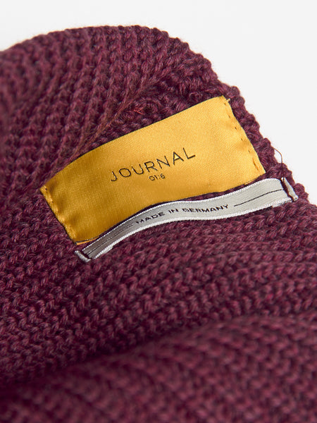 Rise Hood Hat Rose Brown by Journal