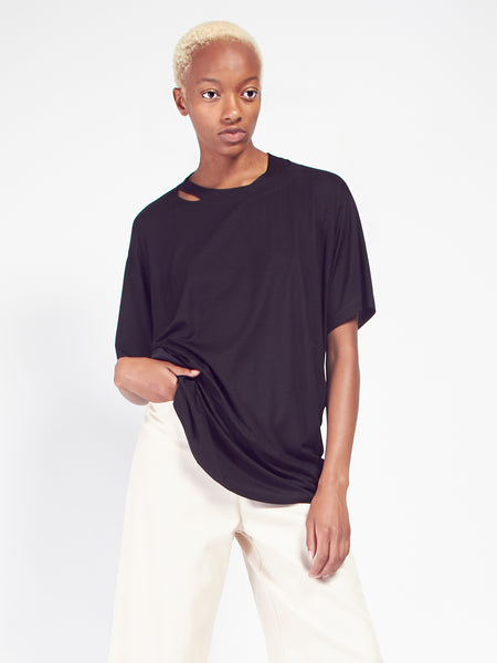 Draped Tee by MM6 Maison Margiela