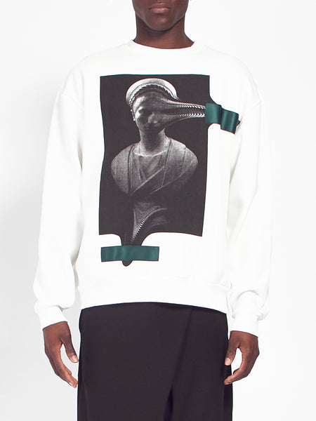 Statue Sweatshirt by Drink Beer Save Water