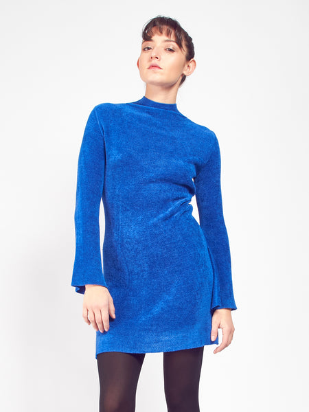 Ramona Sweater Tunic - Lapis by Pari Desai