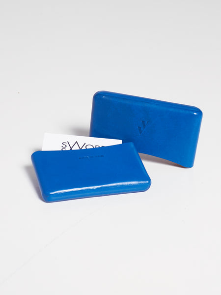 Brev Card Holder Cobalt by Vere Verto