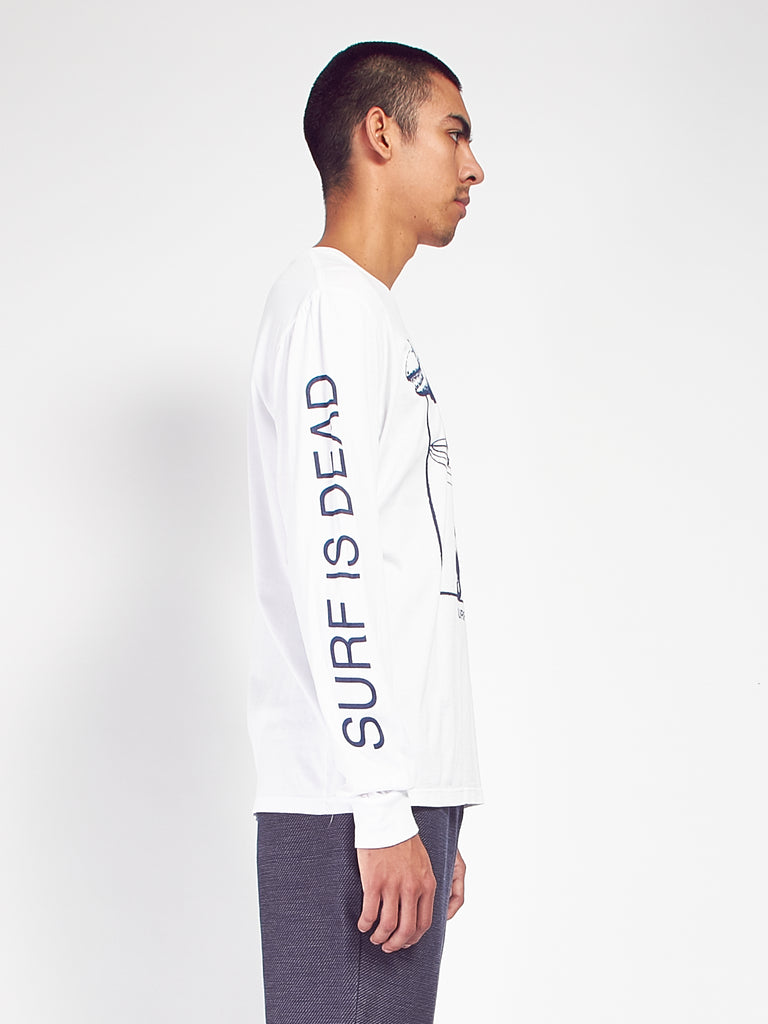 Really Dead Long Sleeve Tee by Surf Is Dead