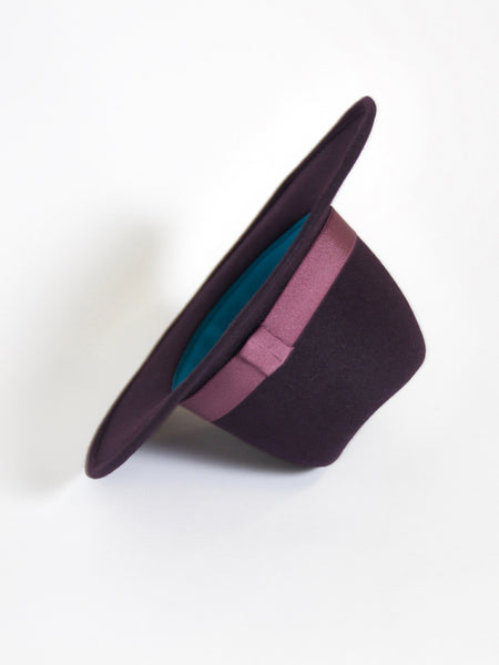 Nomad Packable - Aubergine by Yestadt Millinery