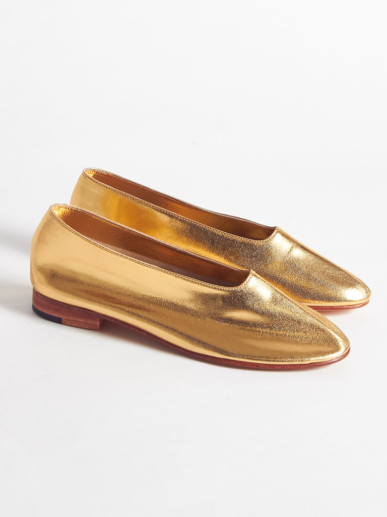 Glove Shoe Gold by Martiniano