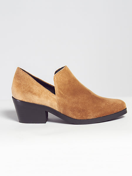 Intentionally Blank - Meds Loafer Tan Velvet by Intentionally Blank