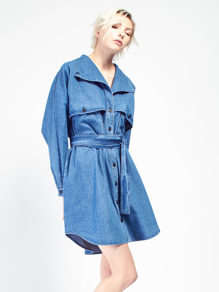 Safari Dress -  Denim by 69
