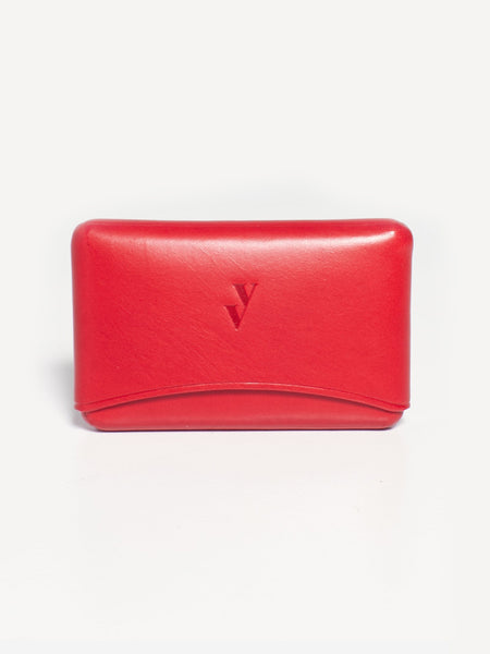Brev Card Holder Red by Vere Verto