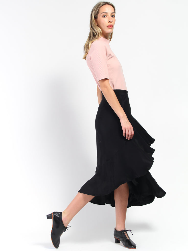Hazel Skirt - Black by Rodebjer