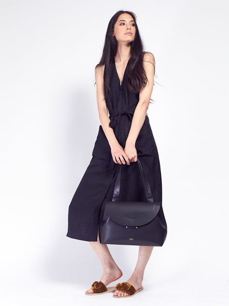 Demi Lune Bag Black by Imago-A