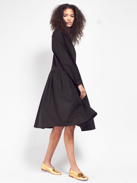 Kowtow - Foundation Dress - Black by Kowtow