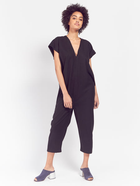 Everyday Jumpsuit Black by Miranda Bennett