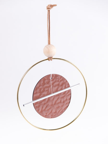 Mini Chime Circle Bar Dusty Rose by Ladies & Gentlemen