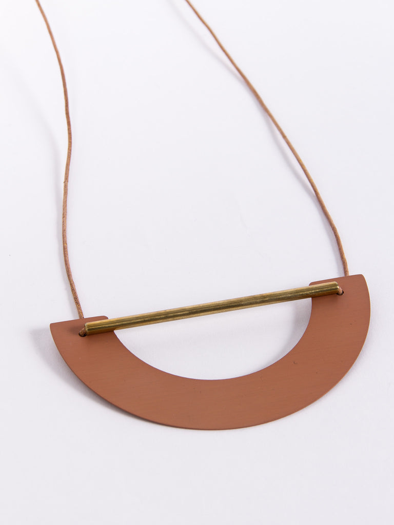 Big Arch Necklace Copper by Ladies & Gentlemen