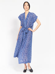 Olympia Chiffon Robe Dress