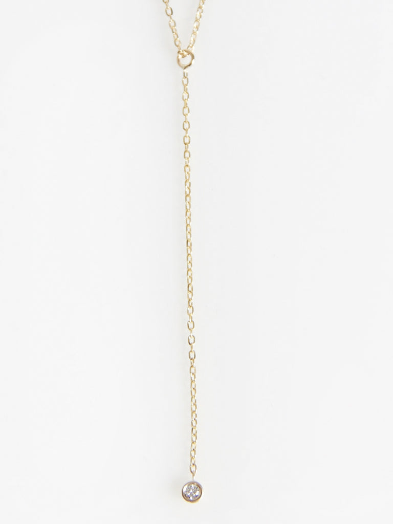 Hanging Diamond Necklace by Vale