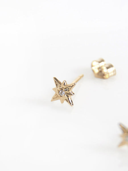 Tiny Supernova Earrings by Vale