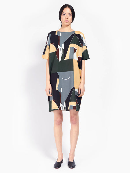 Script Dress by Kowtow