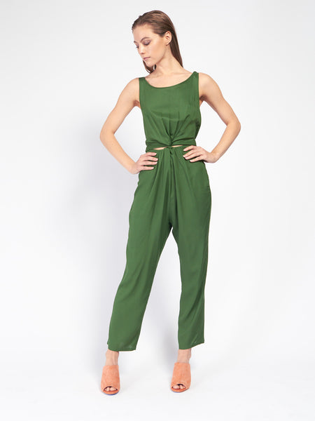 Immortal Jumpsuit Leaf Green by Samantha Pleet