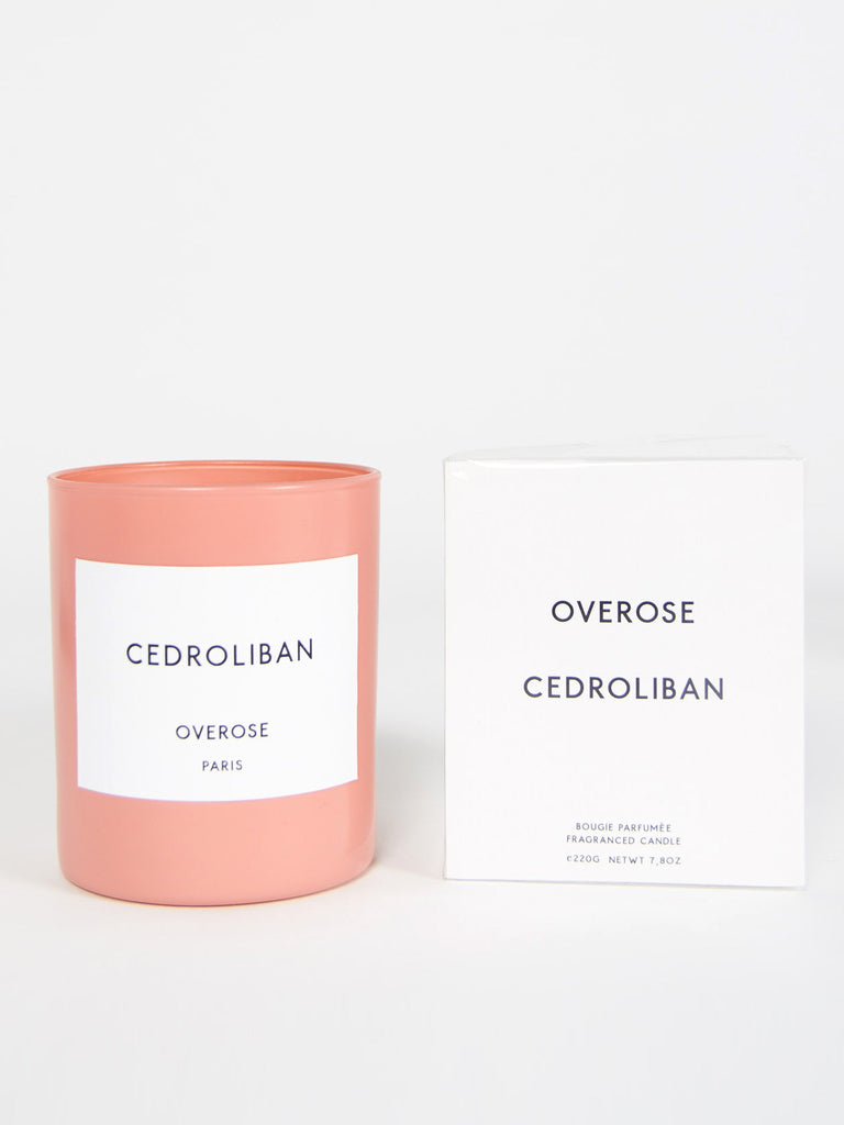 Cedroliban Candle by Overose