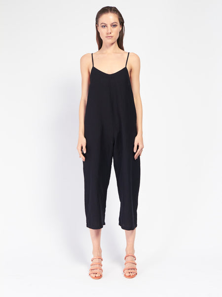 Wide Leg Jumper Black by Ali Golden