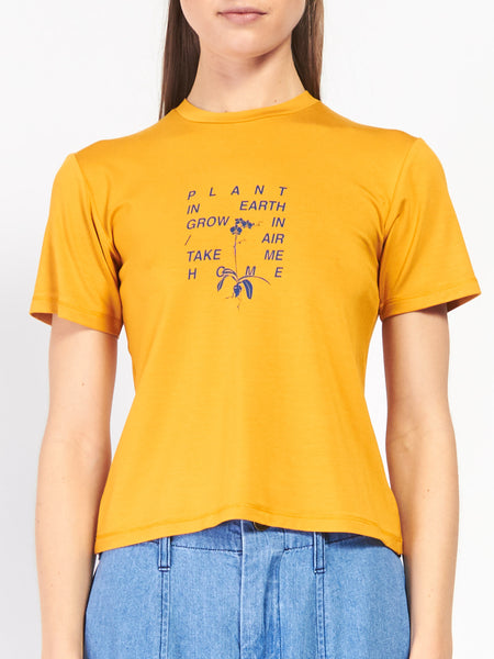 Summer Tee Saffron by Scapes NY