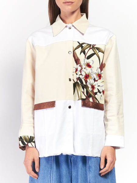 Orchid Gardening Jacket by Scapes NY