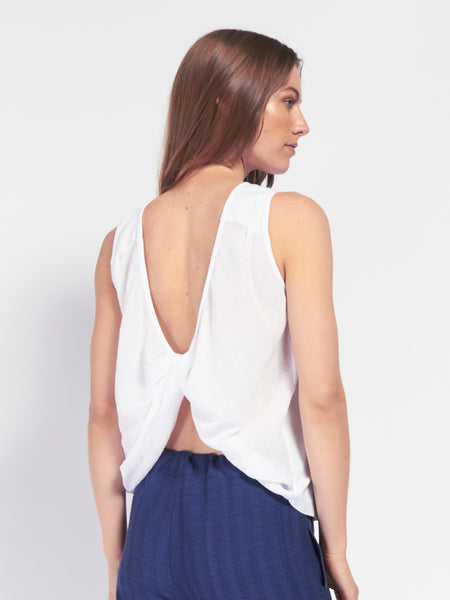 Sorella Tank White by Skin