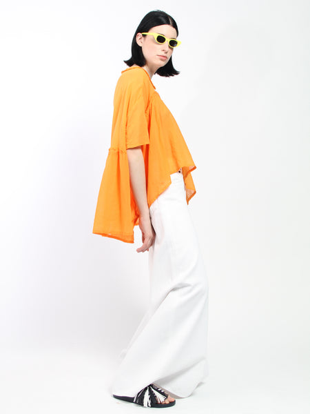 Bon Chalant Blouse - Orange by Henrik Vibskov