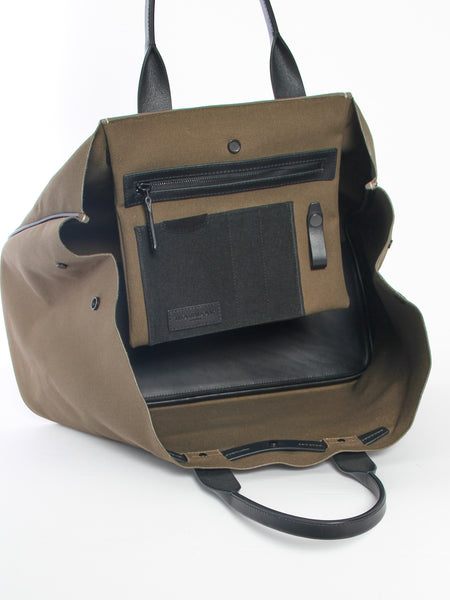 Tote Bag - Khaki by Troubadour