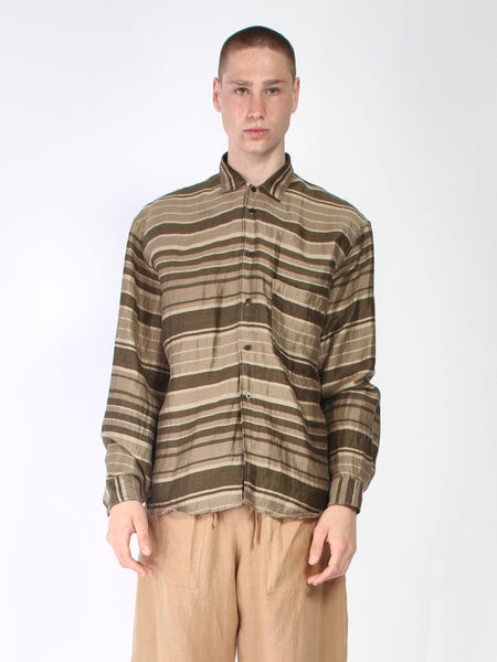 Zed - Big Pocket Button Up - Stripes by Zed