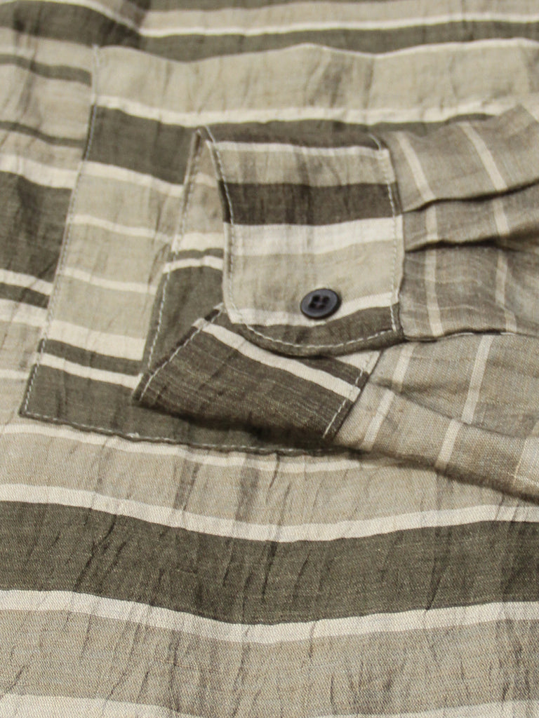 Big Pocket Button Up - Stripes by Zed
