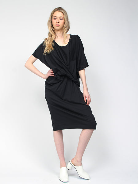 Suzy Lou Dress Black by Reality Studio