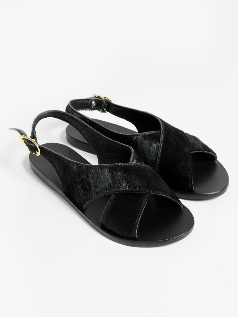 Maria Sandal, Black by Ancient Greek Sandals