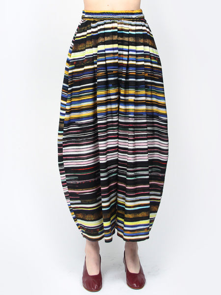 Wide Pant Skirt - Stripes by Anntian