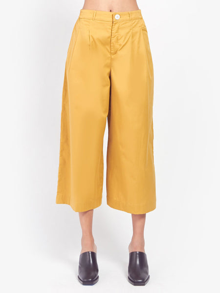 Casting Pant - Gold by Kowtow