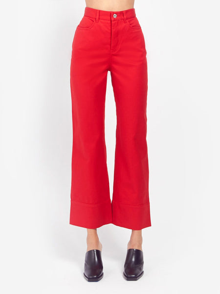 Stage Pant - Red by Kowtow