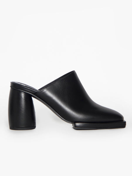 Closed Toe Mule - Black by Reike Nen
