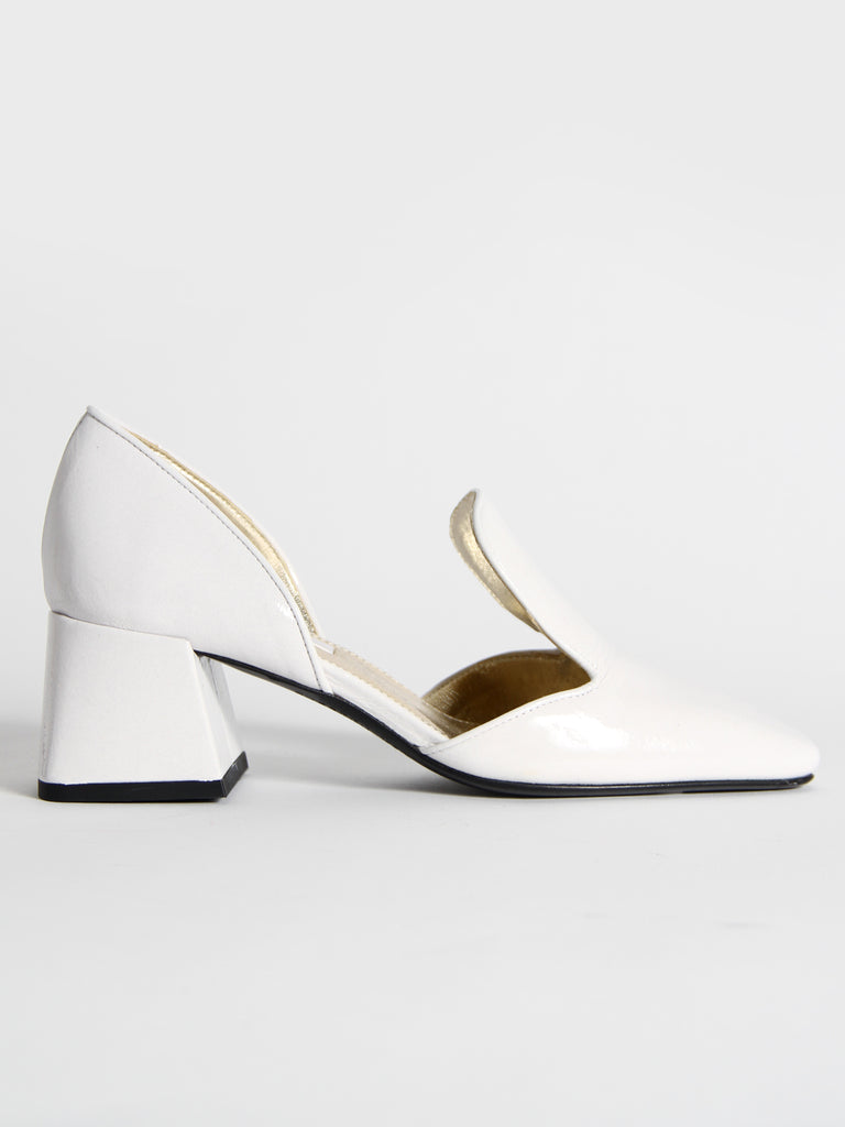 D'Orsay Loafer - Bianco by Suzanne Rae