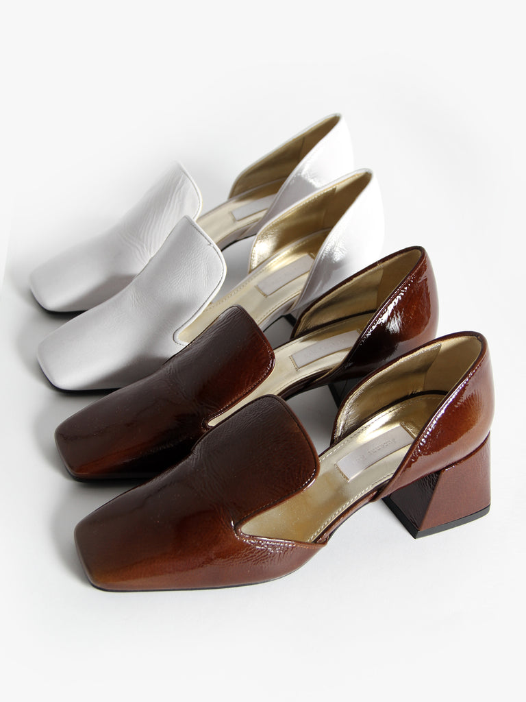 D'Orsay Loafer - Brown by Suzanne Rae