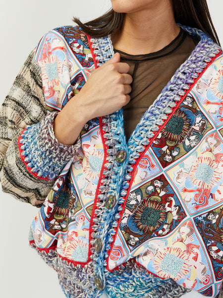 Patchwork Cardigan by Tata Christiane