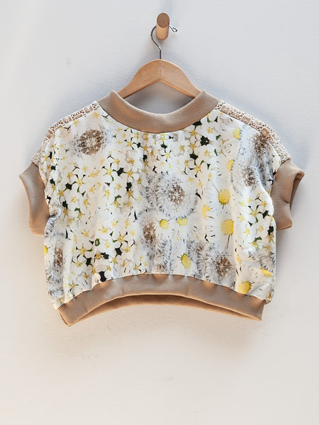 Flower Top - Yellow by Tata Christiane