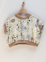 Flower Top - Yellow