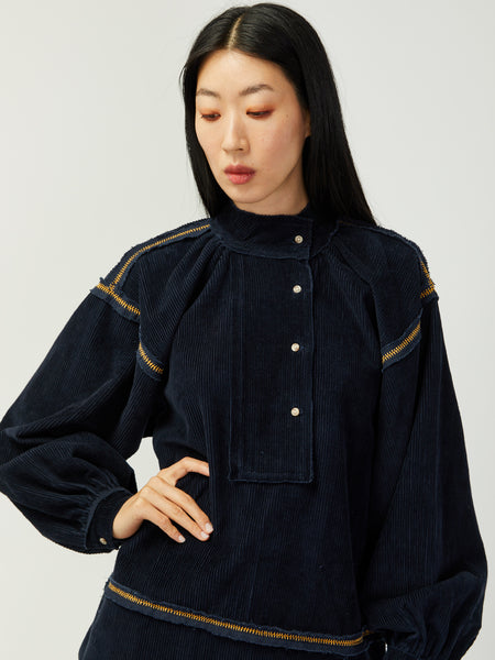 Limi Corduroy Shirt by Untitled Co
