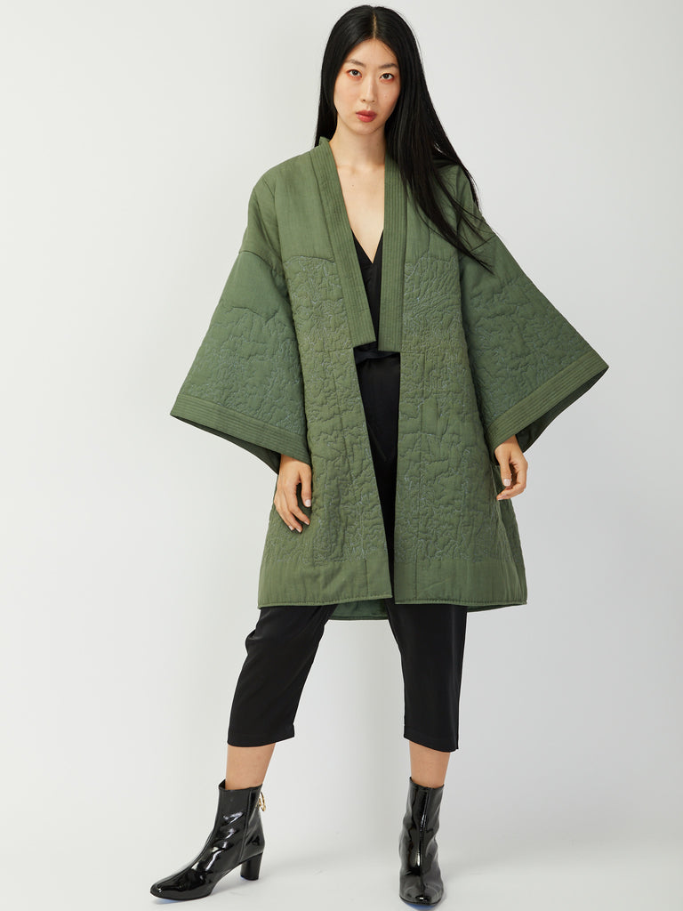 Neera Quilted Robe by Untitled Co