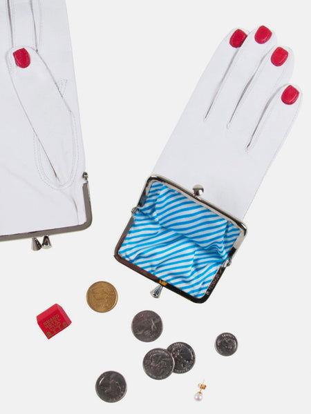 Glove Coin Purse White by Welcome Companions