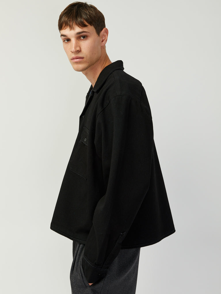 Dirty Willy Work Shirt - Black by Willy Chavarria